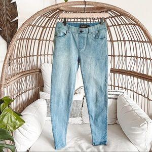 Betabrand Light Wash Skinny Jeans